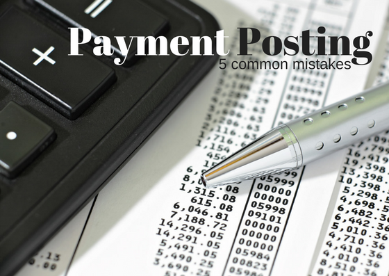 payment posting mistakes